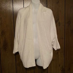 Barefoot Dreams White Ribbed Soft Cozychic Lite